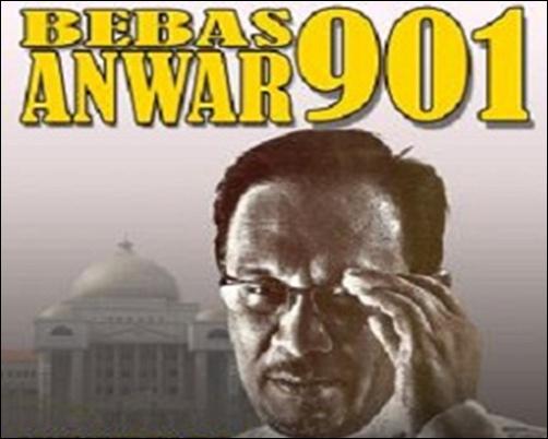 Bebaskan Anwar Ibrahim 901