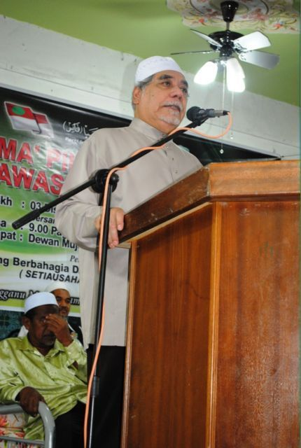 Dato Hj Mustafa Ali rasmi Ijtimak PRU 13 PAS Kemaman