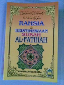 rahsia dan keistimewaan surah alFatihah