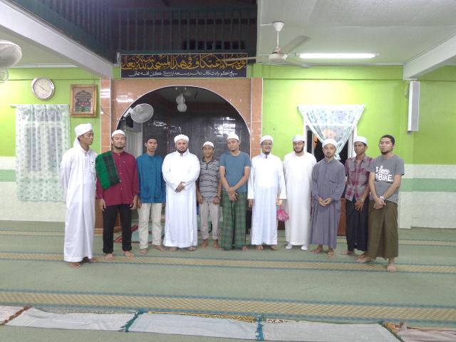 Samir asSaqqa di Taman Islam