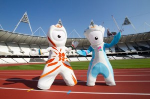 mascot london olympic 2012