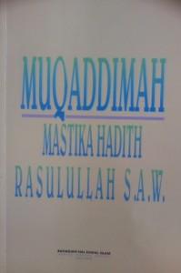muqaddimah mastika hadis