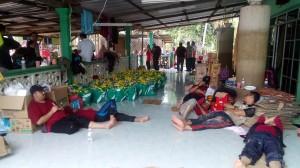48 petugas unit Amal berehat di Markas Bukit Mentok