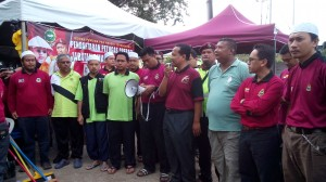 67 Ketua DPPM lancar aktiviti ops bersih di pekarangan Pjbt PAS Kmn