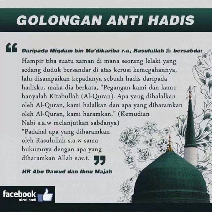 golongan anti hadis