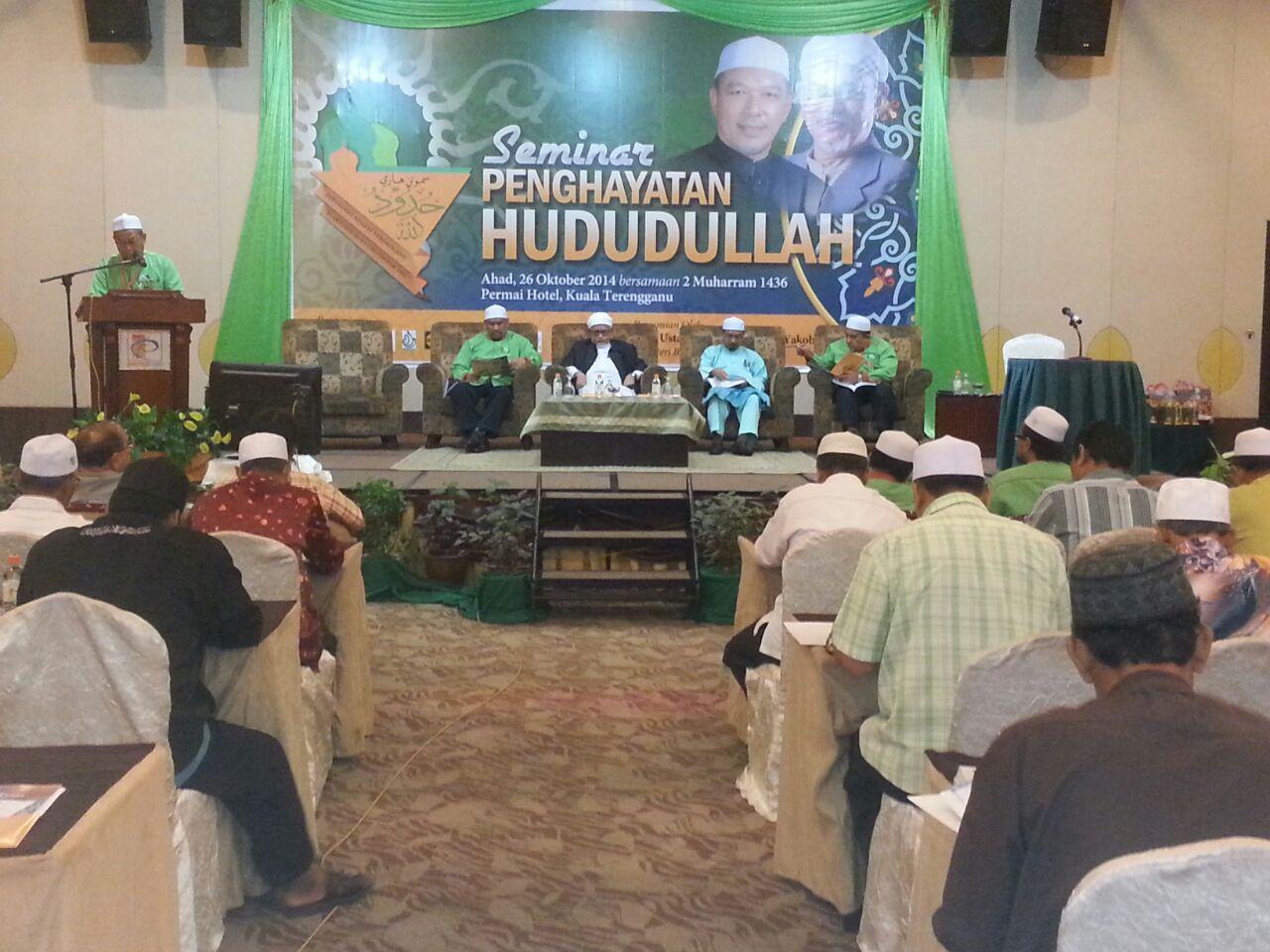 perasmian Seminar Hududullah