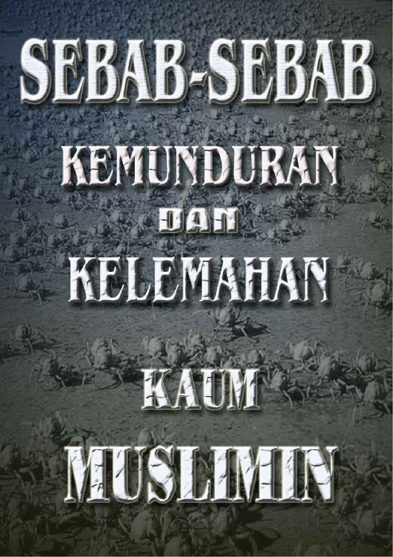 sebab umat Islam mundur