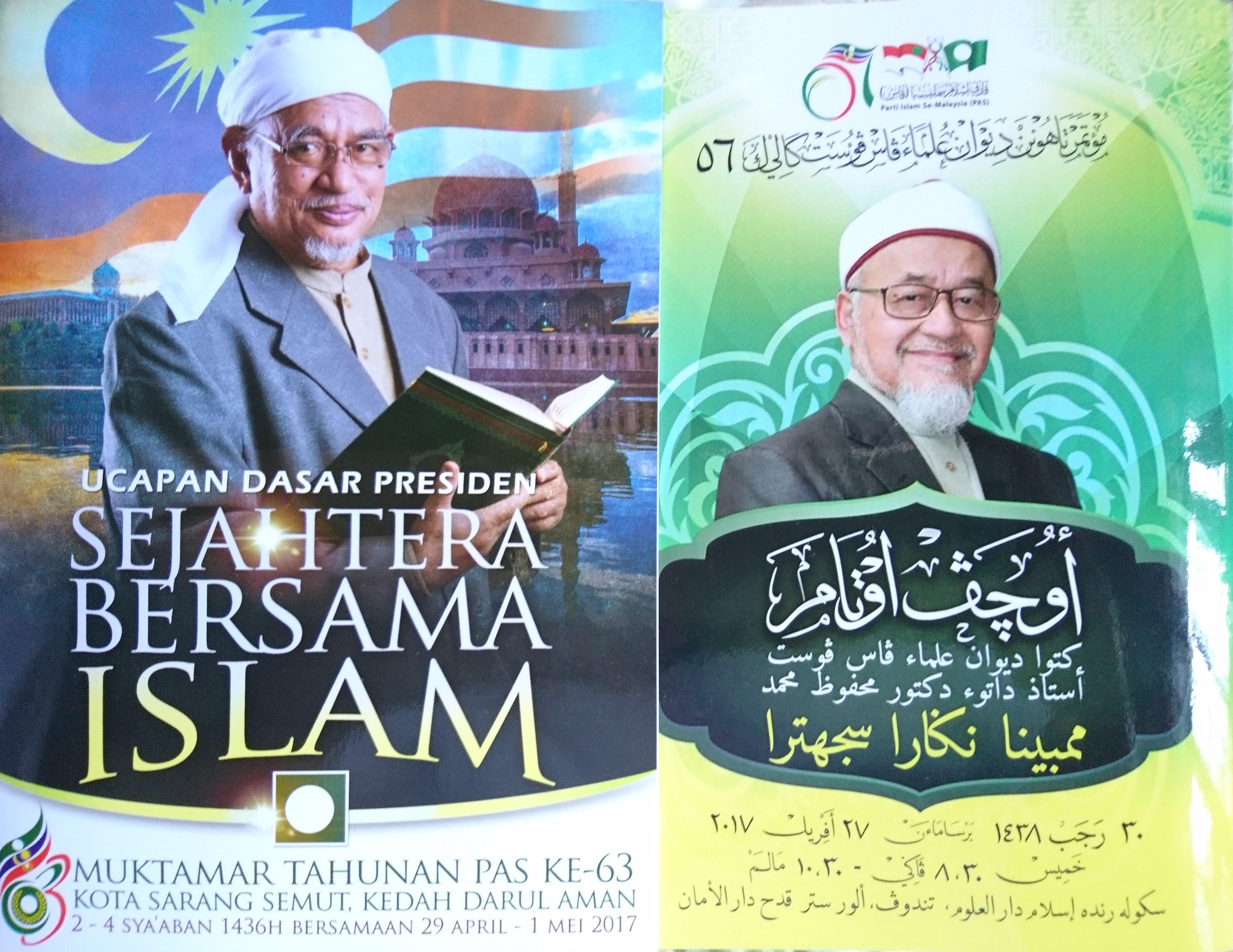 membina negara sejahtera, sejahtera bersama Islam