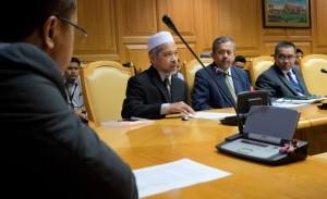 diskusi pejabat MB Terengganu